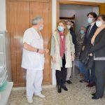 El centro de salud de Pinilla se traslada a San Juan de Dios ante su reforma